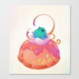 A sweet nest Canvas Print
