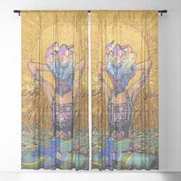 Pure Spirit  Sheer Curtain