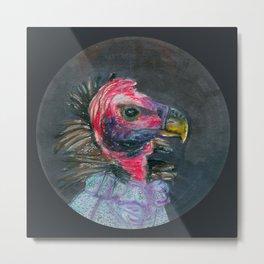 madam turkey vulture Metal Print