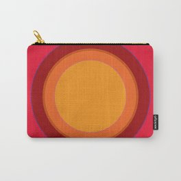 That 70s Sun spot - Kapow Red! Carry-All Pouch
