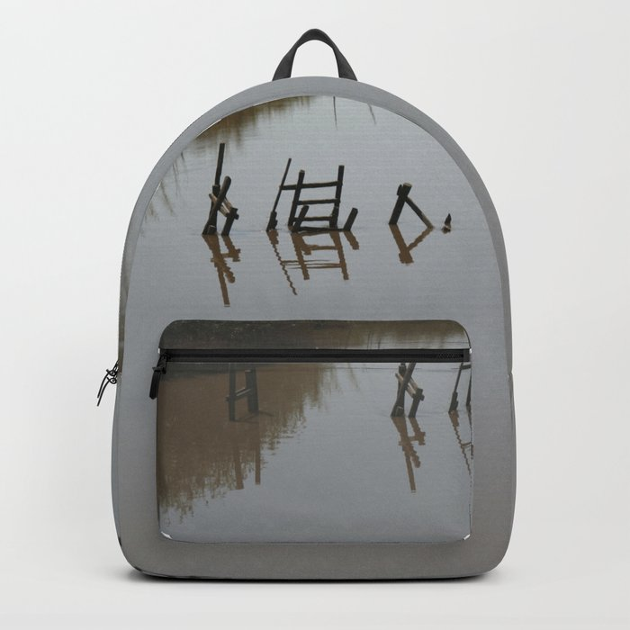 The river 's cryptic message Backpack