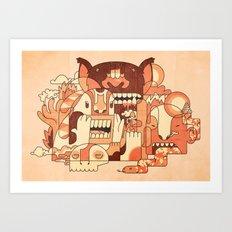 Dry Heat Art Print