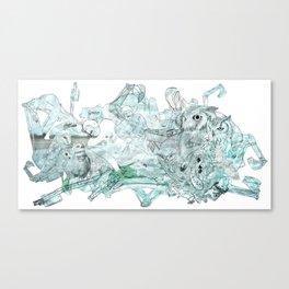 Ow! Canvas Print