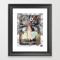 MINGA | touch(v.) Framed Art Print