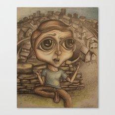 Boy on the Hill Canvas Print