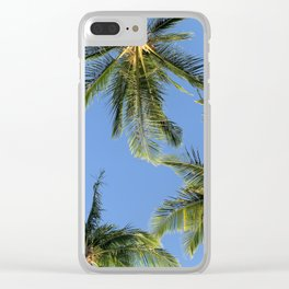In Paradise by Mandy Ramsey Clear iPhone Case