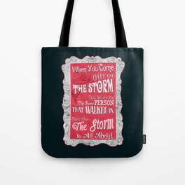Lab no. 4 storm will change you life Tote Bag