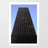 tetris Art Prints featuring Tetris by CharlieX