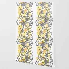 Scandi Micron Art Design | 170714 Abstract Watercolour Play 2 Wallpaper