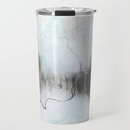 Into the Storm - Square Abstract Expressionism Travel Mug