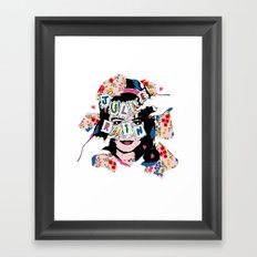 JuLiE RuiN!!! Framed Art Print