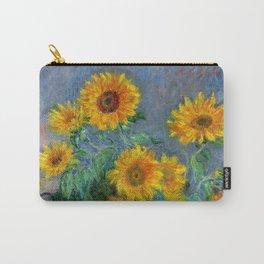 Bouquet of Sunflowers - Claude Monet Carry-All Pouch