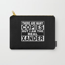 I Am Xander Funny Personal Personalized Fun Carry-All Pouch