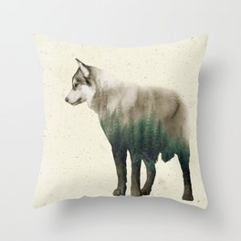 I am a Forest Throw Pillow