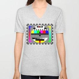 I love TV Unisex V-Neck