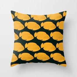OrangeFish Throw Pillow