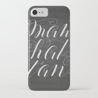 manhattan iPhone & iPod Cases featuring Manhattan by Molly Suber Thorpe