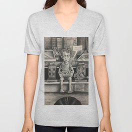 Out Of Town Unisex V-Neck