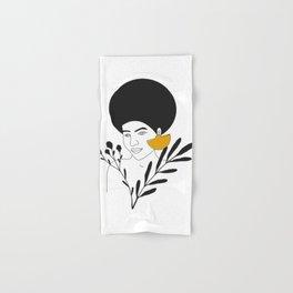 Sophisticated Woman Hand & Bath Towel