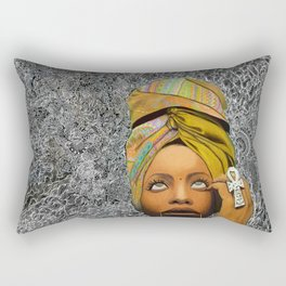Kween Badu Rectangular Pillow