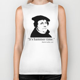 It's Hammer Time Biker Tank