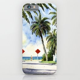 Beach Access 3, Siesta Key iPhone Case