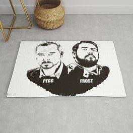 Simon Pegg & Nick Frost Rug