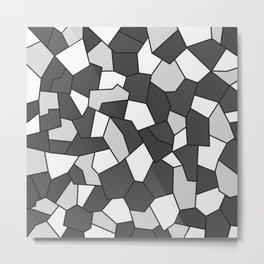 Hard Mosaic 06 Metal Print