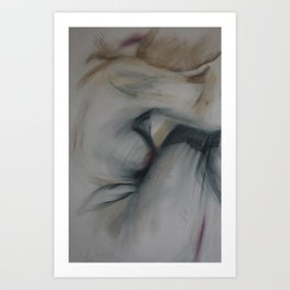 Klooster Series: Female Nude #204 Art Print