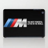 bmw iPad Cases featuring BMW M PERFORMANCE by kartalpaf