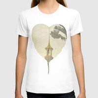 asia T-shirts featuring Asia Rain by Eva Nev