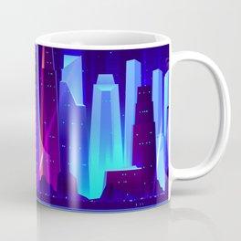 Synthwave Neon City #7 Coffee Mug