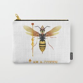 I am a Queen Carry-All Pouch