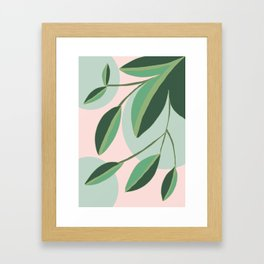 flora V Framed Art Print