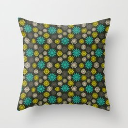 Symbolic Camomiles Throw Pillow