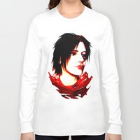 selfie Long Sleeve T-shirts featuring Selfie by Sabuchan
