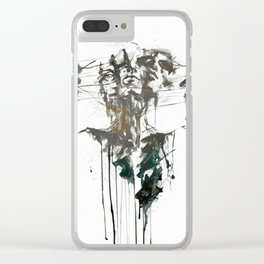 Bipolar Clear iPhone Case
