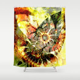 Abstrakt Shower Curtain