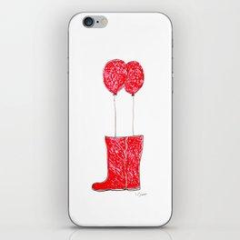 balloon boots iPhone Skin