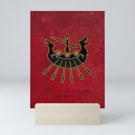Limsa Lominsa flag - The Maelstrom ( FFXIV) Mini Art Print