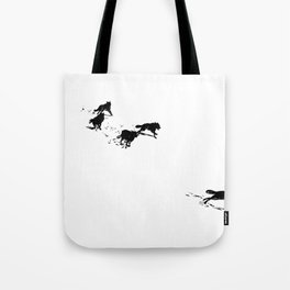 snowblinded // (wolf pack) Tote Bag