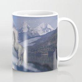 Horses and Moon Coffee Mug