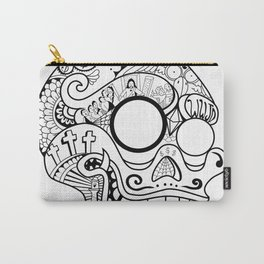 Porcs Riches Skull Carry-All Pouch