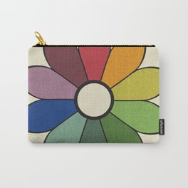 James Ward's Chromatic Circle (no background) Carry-All Pouch