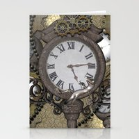 steampunk Stationery Cards featuring Steampunk  by nicky2342