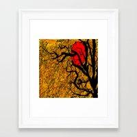 twilight Framed Art Prints featuring TWILIGHT by aztosaha