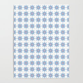 Stars 1- sky,light,rays,pointed,hope,estrella,mystical,spangled,gentle. Poster