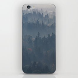 Hazy Layers iPhone Skin