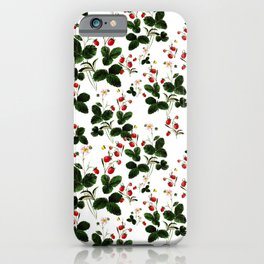 Wild berries iPhone Case