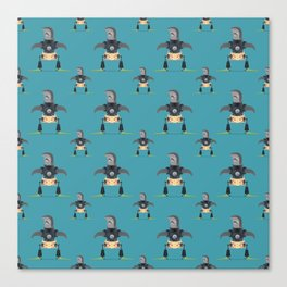 Sharkbots Canvas Print